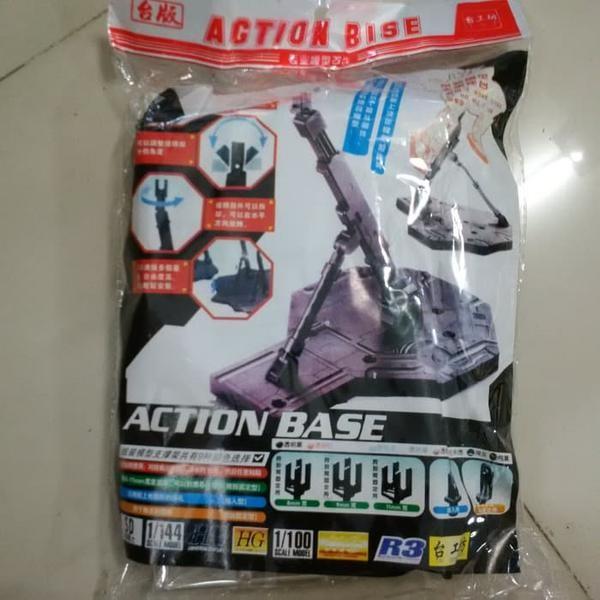 Foto Produk Action / Stand Base Clear Gundam 1/100 1/144 MG HG Hongli Neww dari New Dewa Shop