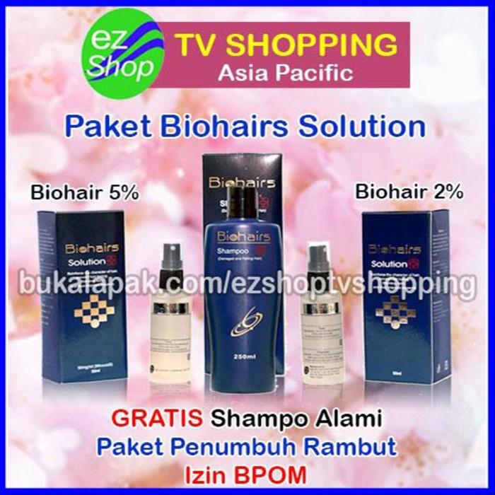 Jual Paket Bio Hair Serum Penumbuh Rambut Biohairs Alami Hair Tonic Ez Shop Jakarta Barat Nilastore416 Tokopedia