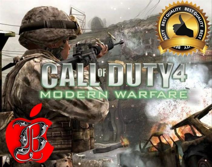 Jual Game Mac Os Call Of Duty 4 Modern Warfare Kota Tangerang Burung99 Tokopedia