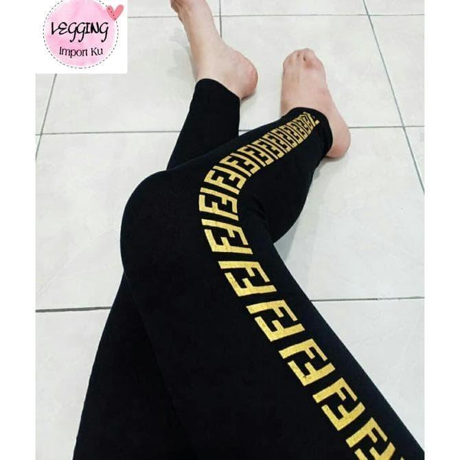 Jual Celana Legging Fendi Fashion Wanita Import Leging Senam Olahraga Jakarta Barat Wsanjayayahoocom 112 Tokopedia