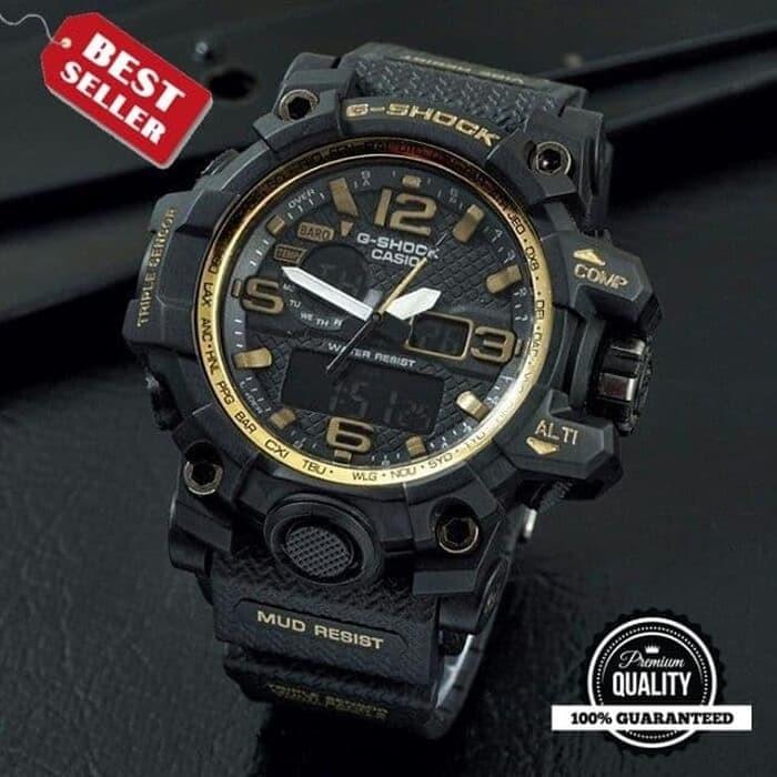 Foto Produk JAM TANGAN PRIA CASIO G-SHOCK GSHOCK DUAL-TIME GWG-1000 GK002 ANTI AIR dari Rodyshop