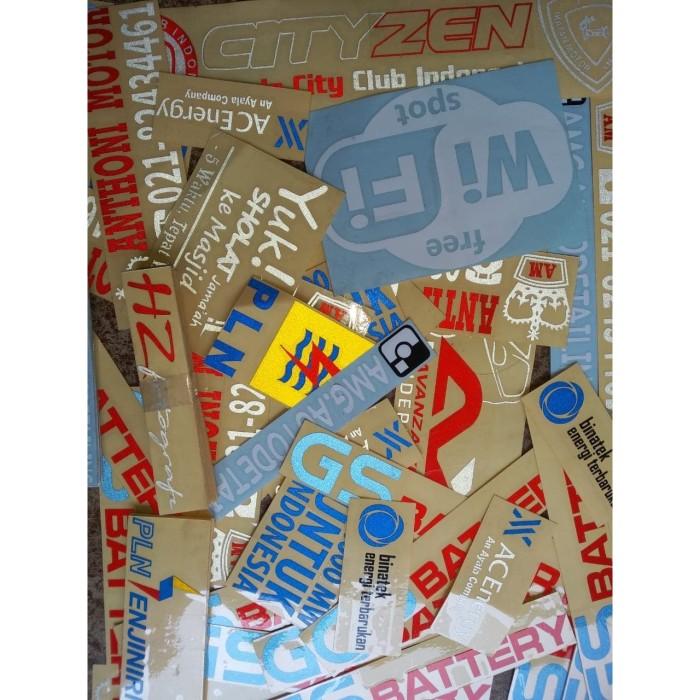 Foto Produk Sticker Cutting Custom Sesuka Hati dari FiendoAdv