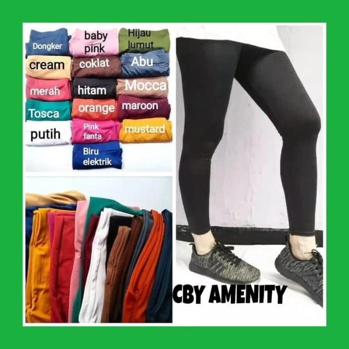 Jual Celana Legging Wanita Polos Legging Dewasa Polos Jakarta Timur Cby Amenity Tokopedia