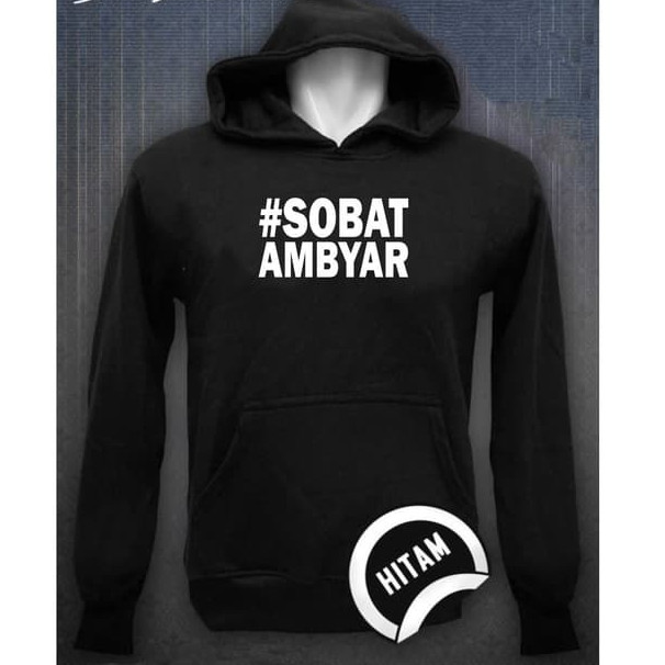 Jual Jaket Hoodie Jumper Sweater Distro Sobat Ambyar Didi Kempot