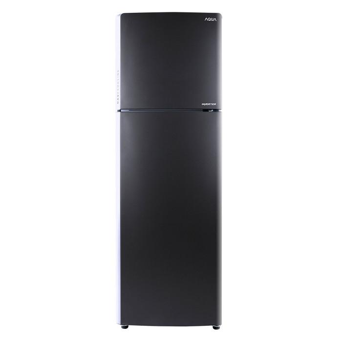 harga Aqua kulkas inverter 2 pintu - 230 liter - aqr-305im dark silver Tokopedia.com