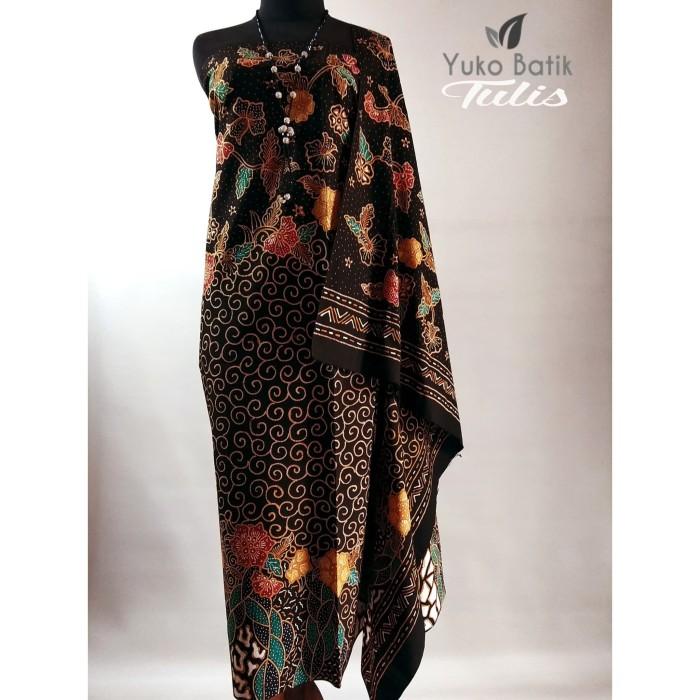 Foto Produk Kain Batik Tulis Motif Bunga Pacar Meduronan - M dari yuko batik