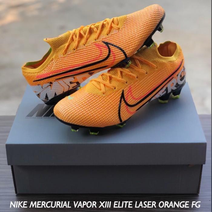 Jual Sepatu Bola Nike Mercurial Vapor Xiii Elite Laser Orange Fg