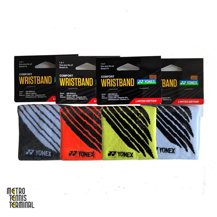 harga Yonex comfort wristband limited edition wb 08491le ( handband ) - white Tokopedia.com