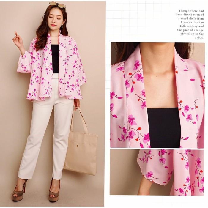 Foto Produk MINZY KIMONO OUTER PINK [Outwear 0103] SIP dari Super Model