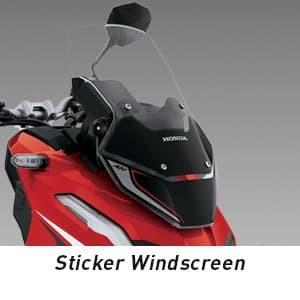Foto Produk Sticker Windscreen Honda ADV150 dari Honda Cengkareng