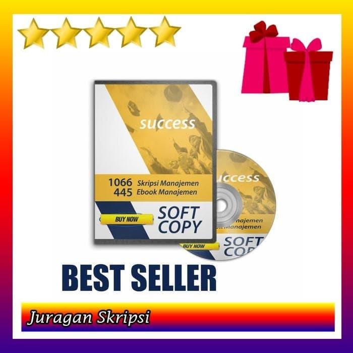 Jual Dvd 736 Contoh Skripsi Manajemen Pemasaran Kualitatif Best