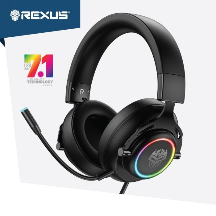 Foto Produk Rexus HX20 Thundervox Stream Headset Gaming 7.1 Surround dari Trinity Official Store