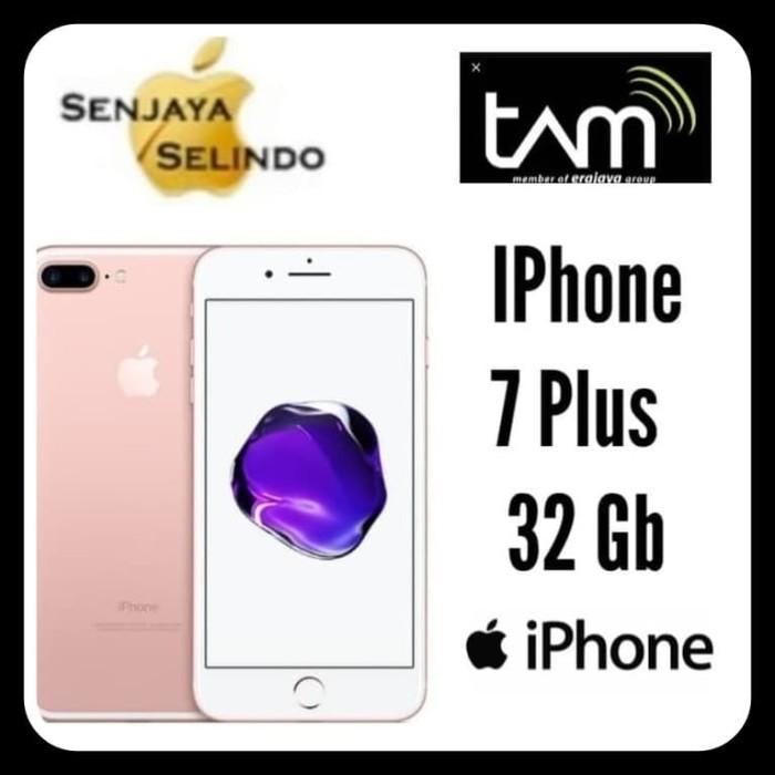 harga Apple iphone 7 plus 32gb garansi resmi tam Tokopedia.com