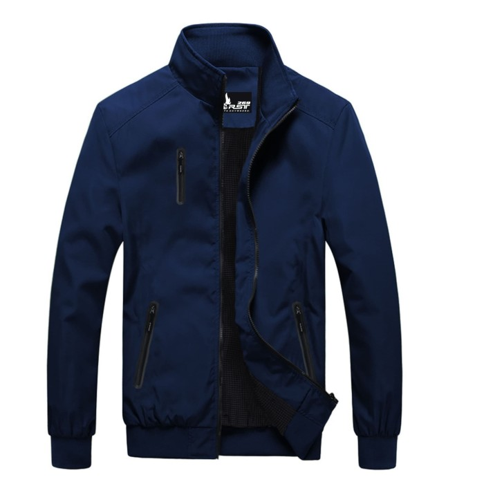 Foto Produk Jaket Pria WP Ghost Outwear Casual Style Premium Biru Navy - Biru Navy, S dari kanahase
