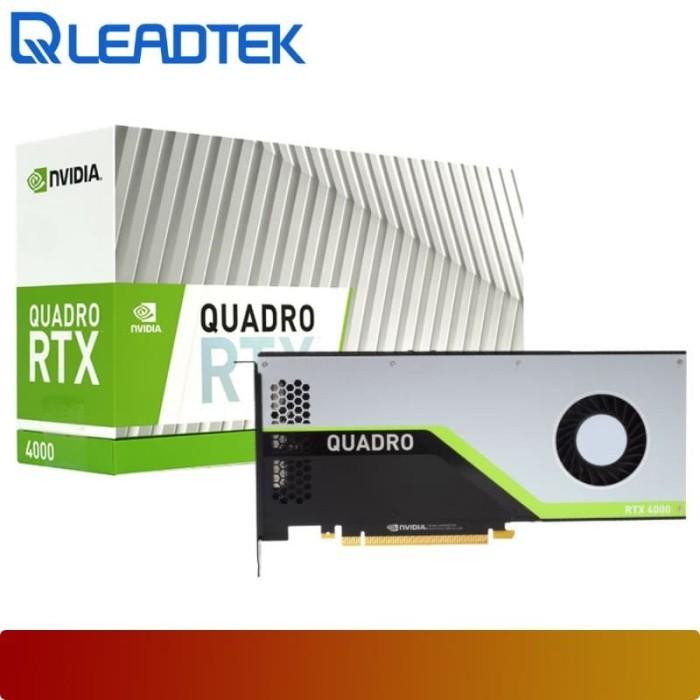 harga Vga leadtek - nvidia quadro rtx4000 / quadro rtx 4000 8gb gddr6 Tokopedia.com