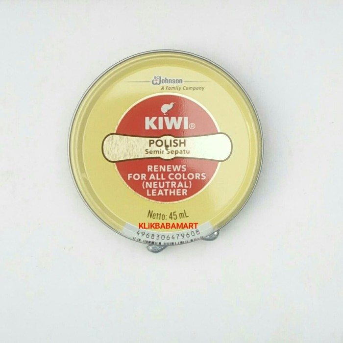 Jual Semir Sepatu Kiwi Original 45ml Netral Untuk Semua Warna