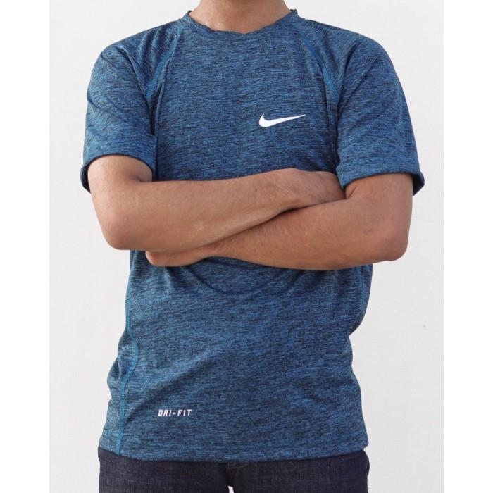Foto Produk MISTY Kaos Running baju olahraga / GYM Nike lokal allsize dari LUCKY SPORTS