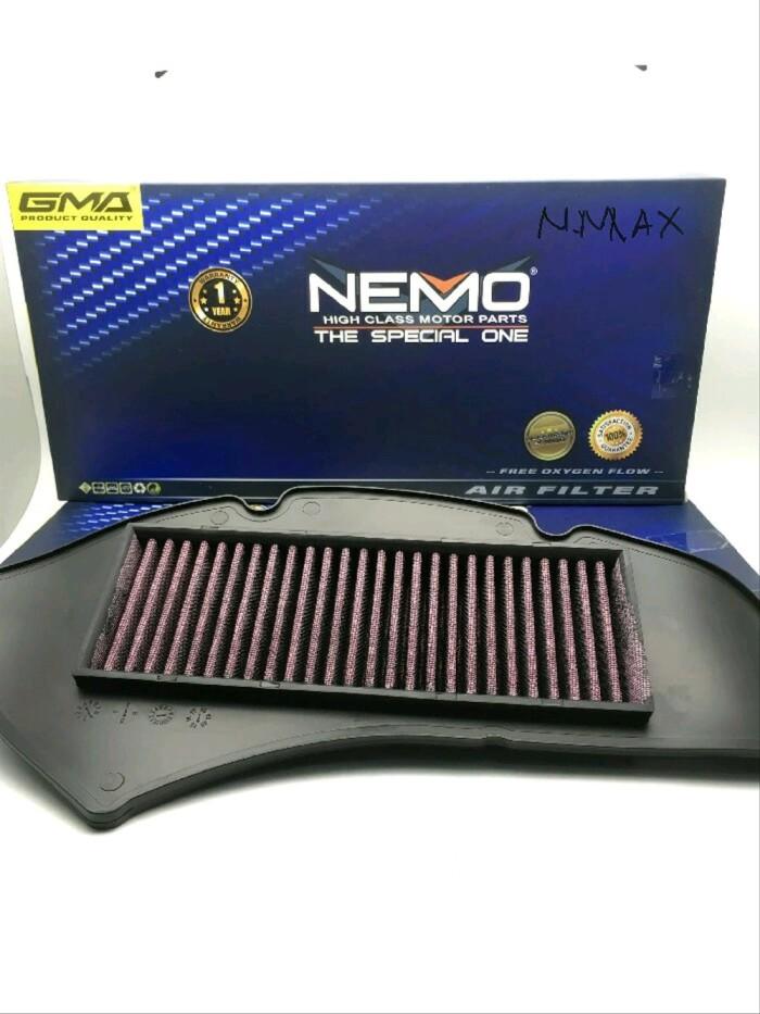 Foto Produk Variasi Air Filter Udara NEMO Motor Yamaha N-MAX Termurah. onderdil dari uliiiilllstore