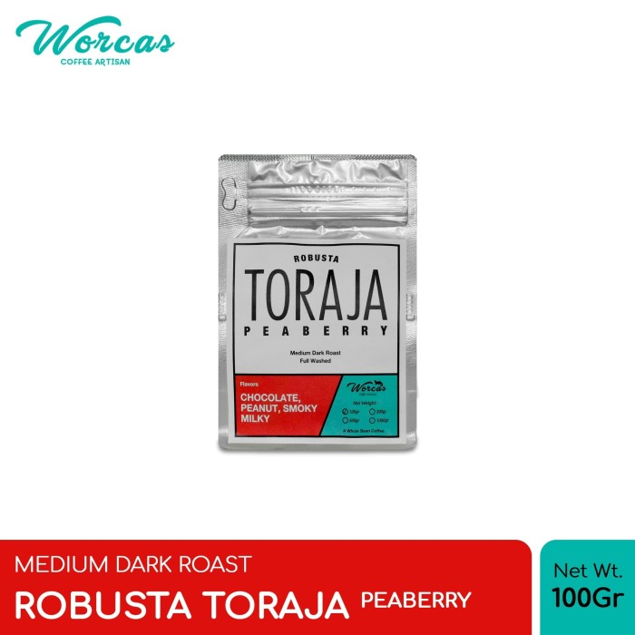 harga Kopi robusta toraja  peaberry  100 gram medium dark roast - bubuk sedang Tokopedia.com