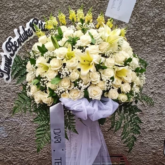 Jual Bunga Dukacita Bunga Ucapan Duka Jakarta Barat Ayudia Florist Tokopedia