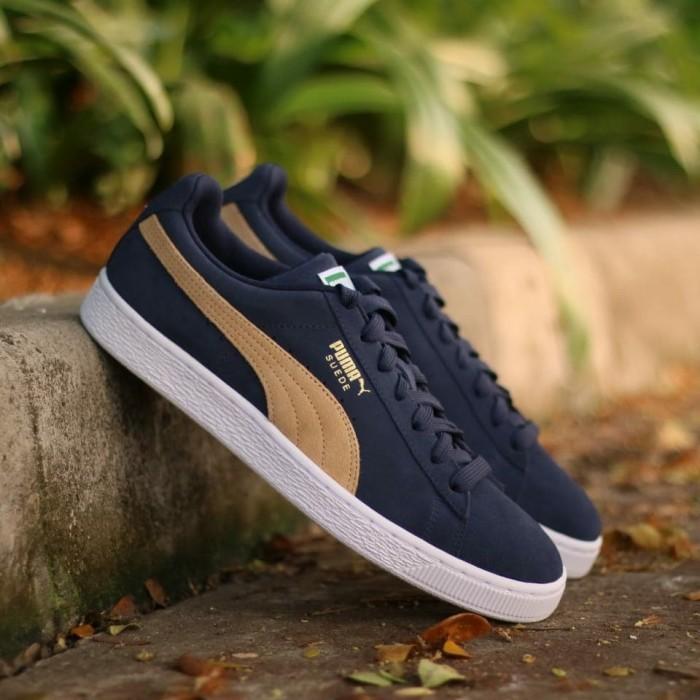 Jual Sepatu Puma Suede Classic Navy