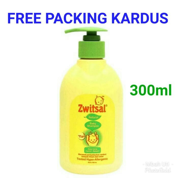 harga Zwitsal shampo bayi 300 ml baby shampoo Tokopedia.com
