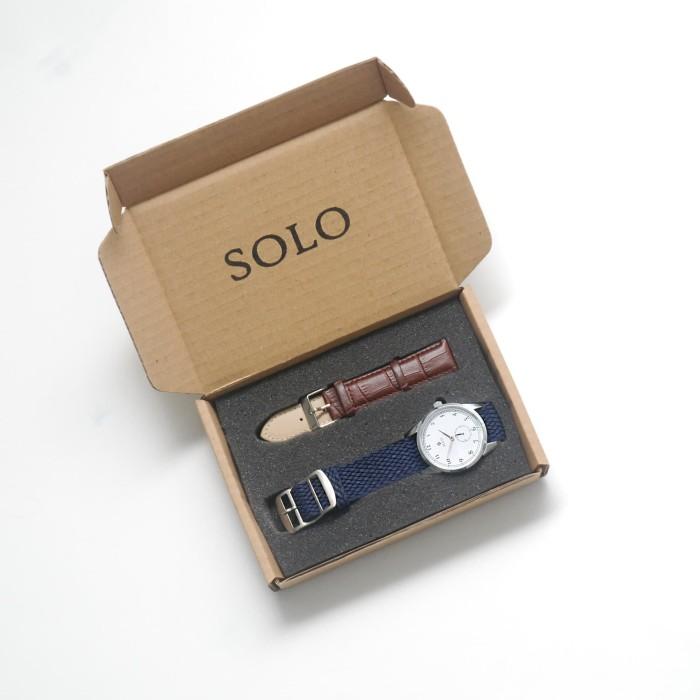 Foto Produk Jam Tangan Solo Timepiece - Mix Set (Kulit & Perlon) dari Solo Timepiece