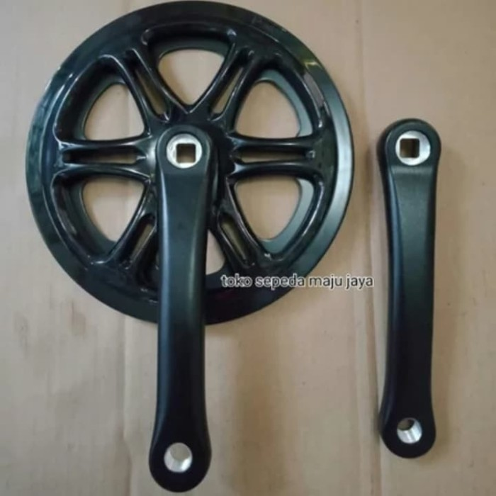 Jual Crank Sepeda Lipat atau Fixie Single Speed 48T Hitam