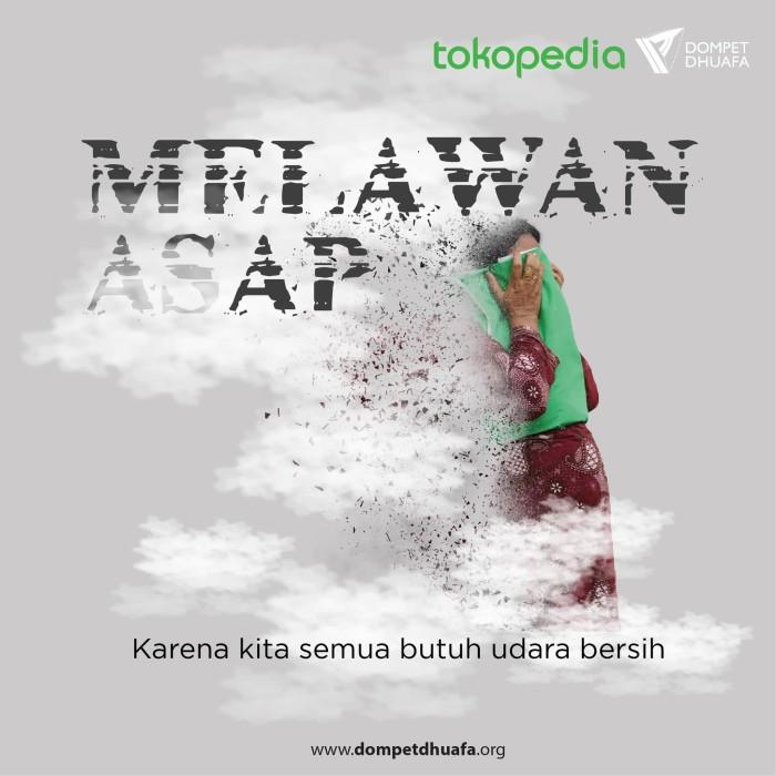 Jual Dompet Dhuafa Donasi Melawan Asap Jakarta Selatan Dompet Dhuafa Tokopedia