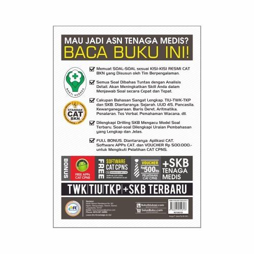 Jual Lor Co Buku Tes Cpns Pppk Tenaga Medis 2019 2020 Cpns Perawat P3k Farm Kab Grobogan Lor Co Tokopedia