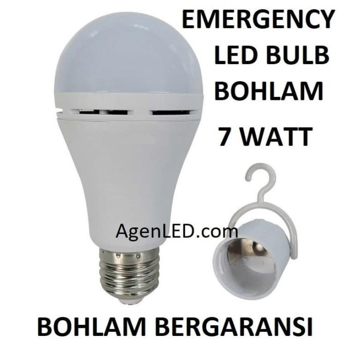 Foto Produk Lampu LED EMERGENCY 7W Bohlam 7 w watt Bulb MAGIC SENTUH ajaib 7watt dari AgenLED
