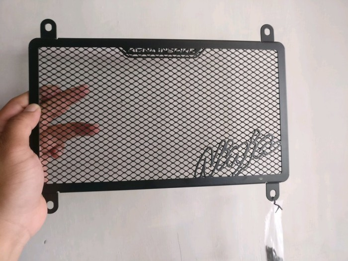 Foto Produk cover pelindung radiator agna all new ninja 250 2018 spare part dari aansoristore