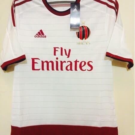 harga Jersey ac milan away original 2014-2015 Tokopedia.com