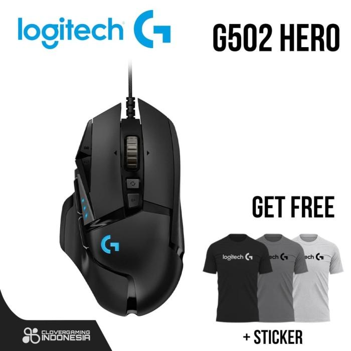 Foto Produk Logitech g502 - Hero|| Mouse Gaming dari Clover Gaming Indonesia