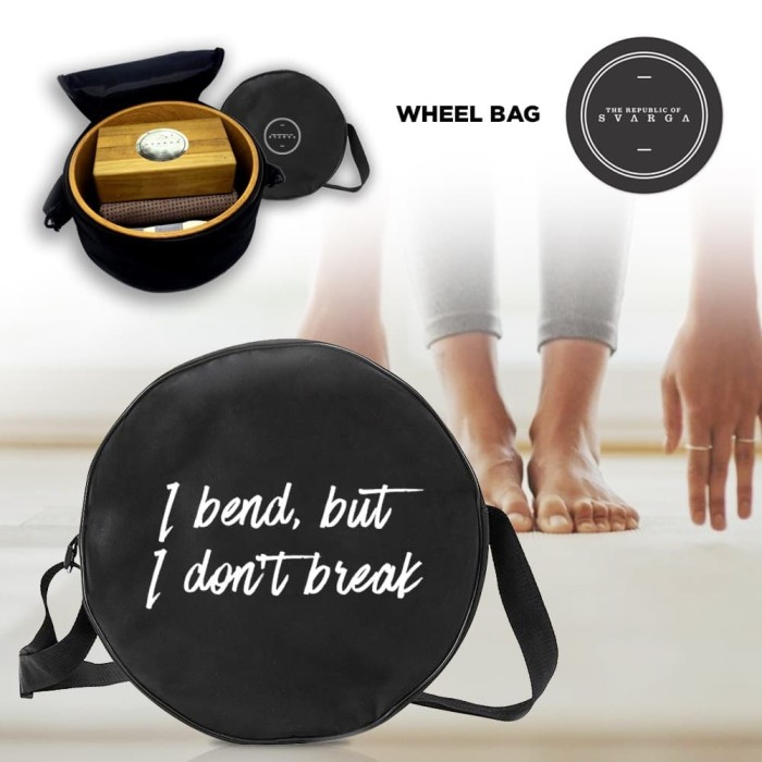 harga Yoga wheel bag by the republic of svarga for yoga pilates gym gears Tokopedia.com