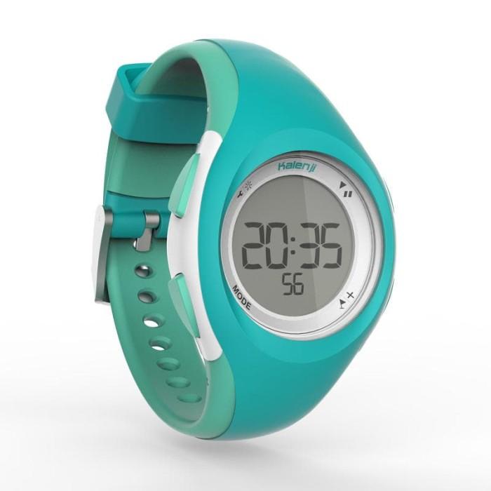 Foto Produk jam tangan kalenji W200 jam tangan olahraga jam tangan digital - Hitam dari diks adventure