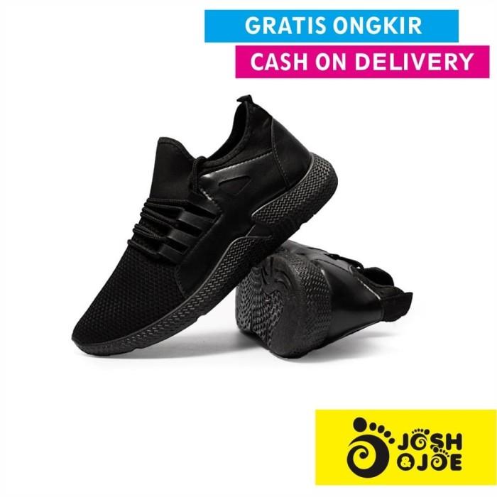 Josh&joe sepatu sneakers sports - sofh pria/wanita santai futsal slip - 41