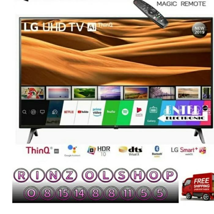 "Foto Produk 50UM7300 LED TV LG 50"" SMART MAGIC REMOTE UHD 4K dari rinz olshop"