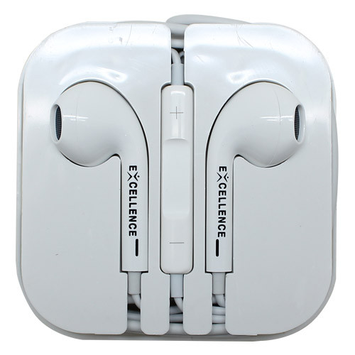 Foto Produk Headset/Handsfree Excellence Universal Stereo Sparrow High Quality - Putih dari MitraSejati