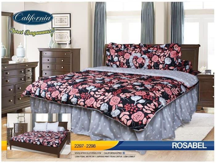 Foto Produk Sprei California 180 X 200 Rosabel King Size Grosir/Eceran dari darilynn