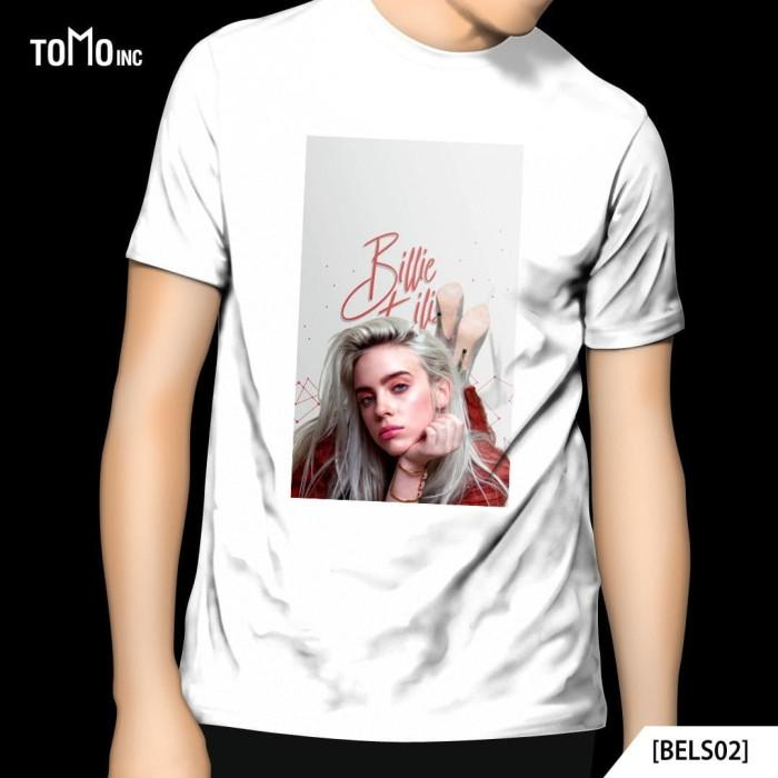 Jual Billie Eilish Cute Eilish Tshirt Music Kota Bekasi Jackalstore87 Tokopedia