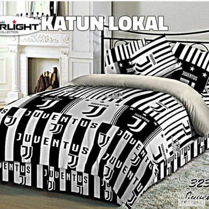 Jual Set Bedcover Juventus 120 200 25 Kota Semarang Bed Cover Premium Tokopedia