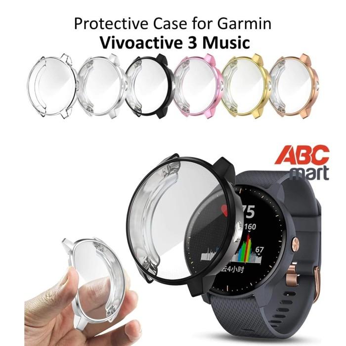 Foto Produk Protective Case for Garmin VIVOACTIVE 3 MUSIC - Sarung Jam Tangan dari ABCmart