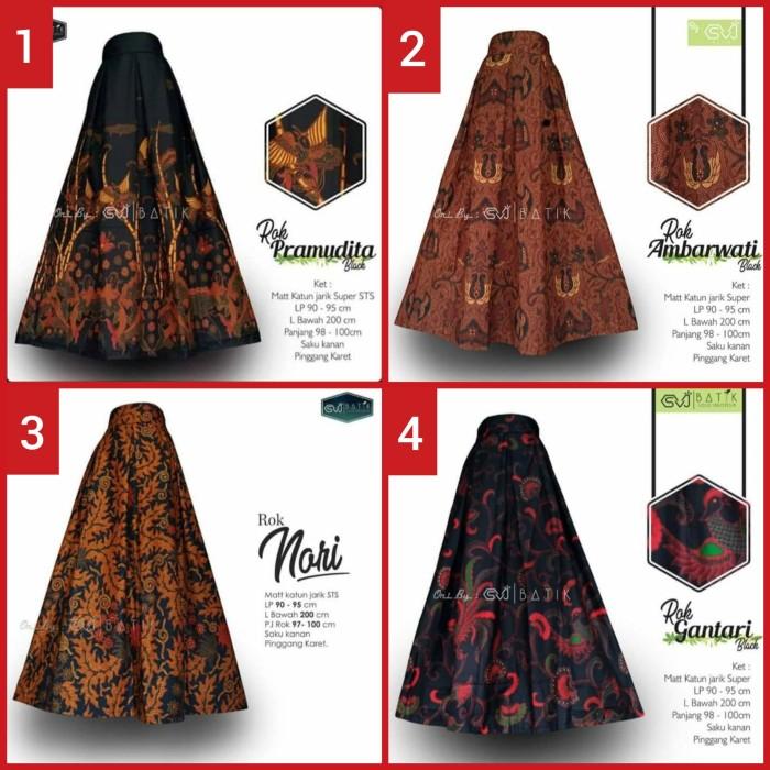 Foto Produk Rok Batik Wanita Bawahan Batik Klok Batik Panjang Syari Original dari Batik Pekalongan Murah33