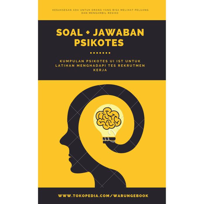 Jual Ebook Soal Dan Jawaban Psikotes Ui Ist Dan Video Pembahasan Lengkap Jakarta Utara Trenlo Store Tokopedia