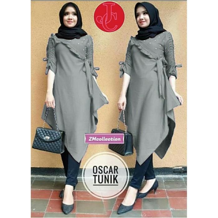 Jual Baju Atasan Tunik Wanita Baju Muslim Zoya Kota Surabaya Gayaonline Tokopedia