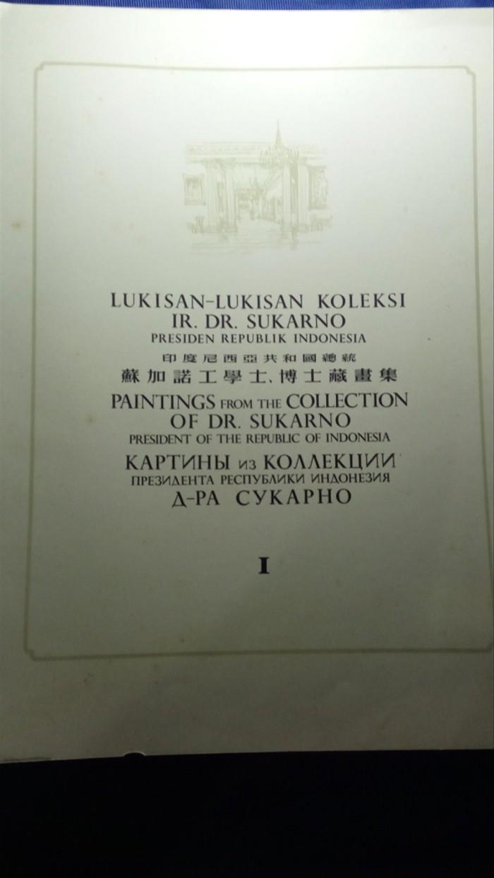 Jual Album Koleksi Lukisan Pak Soekarno 1956 Top Collection Kota Bandung Ghania N