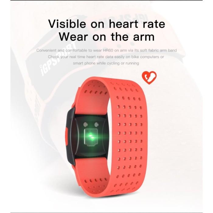 harga Arm band heart rate monitor igpsport hr60 bisa untuk bryton garmin suu Tokopedia.com