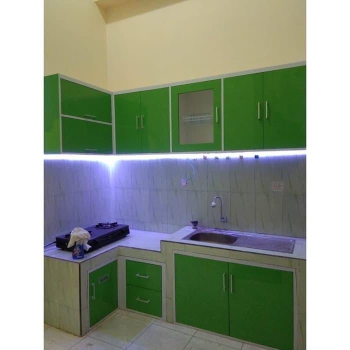 Jual Kitchen Set Minimalis Elegan Interior Furniture Rumah Ijf Kab Sukoharjo Ilham Jaya Furniture Tokopedia