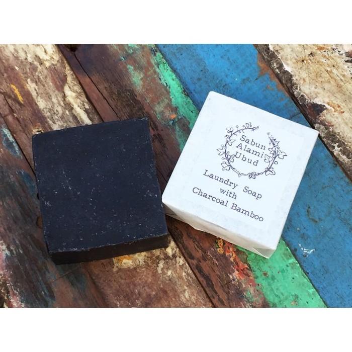 Foto Produk Sabun Laundry dengan bubuk arang bambu / charcoal laundry soap dari Rungu